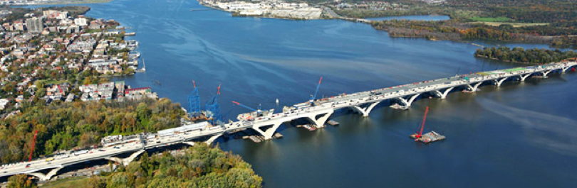 Mega Projects – Woodrow Wilson Bridge & Springfield Interchange